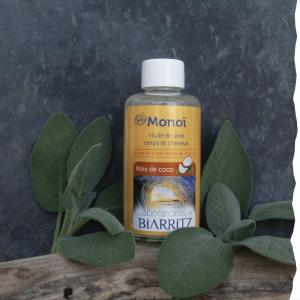 Monoï bio Noix de coco 100 ml Laboratoire de Biarritz