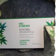 Lingette  rafraîchissante Go Fast à usage unique pour le corps et le visage Ho Karan