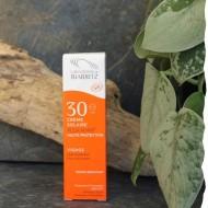 Crème solaire visage certifiée bio SPF 30 Laboratoires de Biarritz 50ml