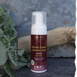 Mousse à raser Bio Santé Aloe Vera