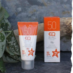 Crème solaire bio SPF50 - Visage et corps  EQ-love