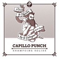 Shampoing solide bio barbe et cheveux Capillo Punch ça va barber ! 50g