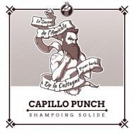 Shampoing solide bio barbe et cheveux Capillo Punch ça va barber !