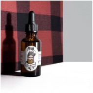 Huile à barbe bio fabriquée en France, parfum à la Bûcheron ça va barber !