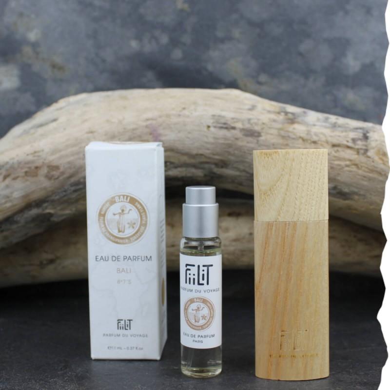Eau de parfum Surya - Bali 11ml avec écrin bois