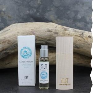 Eau de parfum Irida - Cyclades 11ml avec écrin bois