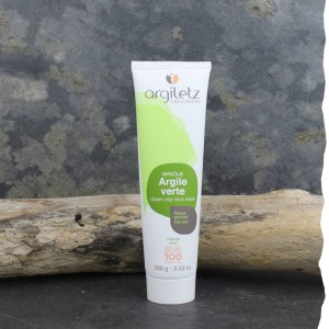 Masque argile verte prête à l'emploi Argiletz 100g