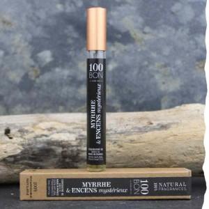 Parfum concentré naturel 100BON Myrrhe et Encens mystérieux 10 ml