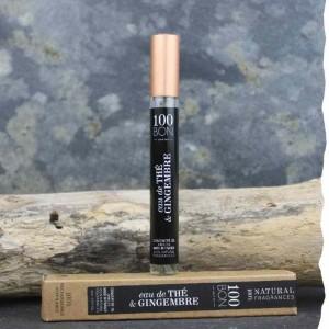 Parfum naturel concentré 100BON Eau de Thé et Gingembre 10ml