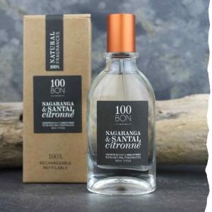Parfum Nagaranga et Santal Citronné concentré 100BON 50ml