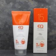Crème solaire Bio SPF15 - Visage et corps - 100ml - EQ Love