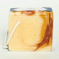 Pain de savon surgras solide Le Carré de Rablay Jojoba Lemongrass 100g