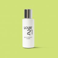 Gel nettoyant visage bio pour homme Louie21. Fabriqué en France. Labellisé Cosmebio par Ecocert.