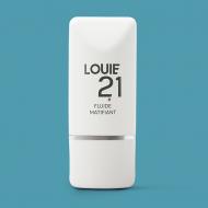 Fluiede matifiant visage bio pour homme Louie21. Fabriqué en France. Haute qualité.