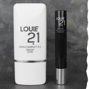 Coffret cadeau de soins visage bio pour homme fabriqués en France Louie21 Anti âge