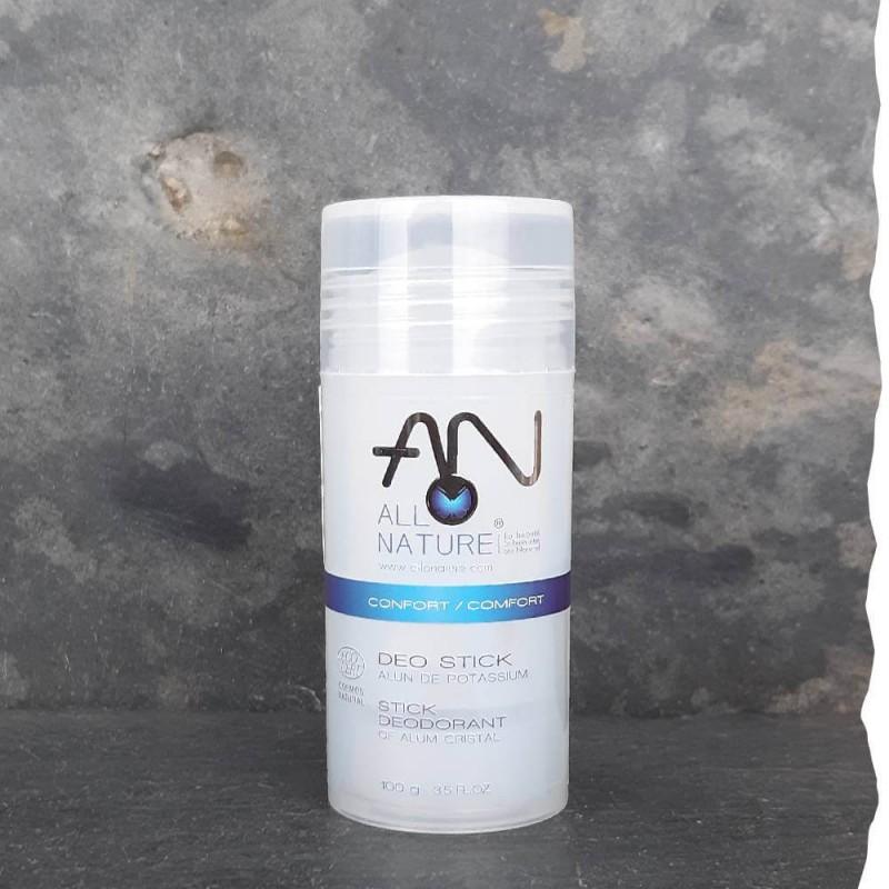 Déodorant bio Pierre d'Alun Allo Nature sans hydroxide d'aluminium Pierre naturelle