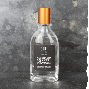 Parfum Nagaranga et Santal Citronné concentré 100BON 50ml. Fabriqué en France