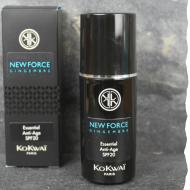 Crème visage bio anti-âge pour homme, kokwai, protection solaire indice 20, fabriqué en France