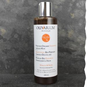 Shampoing Bio cheveux dévitalisés, anti chute 200ml Olivarium homme