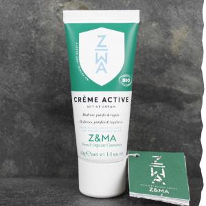 Crème Bio anti-acné - Z et Ma - Crème active 40g