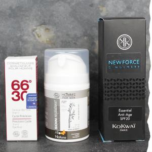 Anti âge bio visage pour homme  - Pack de produits essentiels - Kokwaï - Allo Nature - 66°30