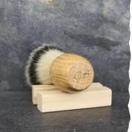 Blaireau de rasage artisanal - Poils synthétiques - Vegan -  Fabriqué en France - Gentleman Barbier