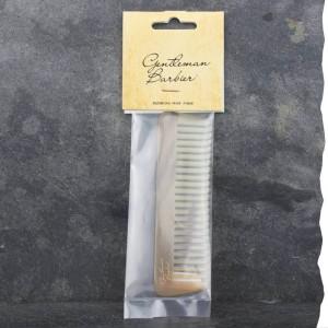 Peigne mini râteau droit pour la barbe
