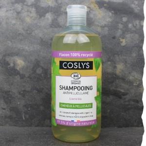 Shampoing bio anti-pelliculaire Coslys - 500ml - Fabriqué en France - Flacon 100% recyclé