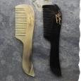 Peigne en corne pour la moustache et la barbe - Fabriqué artisanalement en France