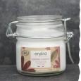 Crème hydratante pour le corps - Endro - Flacon verre - Zéro déchet - Fleur de Coton - Bio