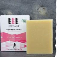 Savon Soin pour le visage  - 100% naturel - labellisé Bio - 100g - Ô Capitaine fabriqué en France, Bretagne
