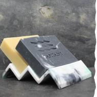 porte savon 100% recyclé - Plastique recyclé - Made in France - Ecologique
