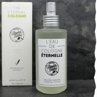 Eau de cologne naturelle pour homme parfum verveine agrumes 100ml Théophile Berthon - Made in France / Slow cosmetique