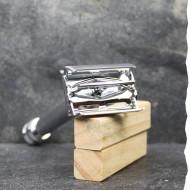 Rasoir de sureté papillon - Gentleman Barbier - Inox - Zéro déchet