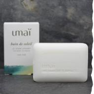Savon 100% naturel surgras saponifié à froid bio 75g Umaï fabriqué en France - Soin lavant Bain de soleil