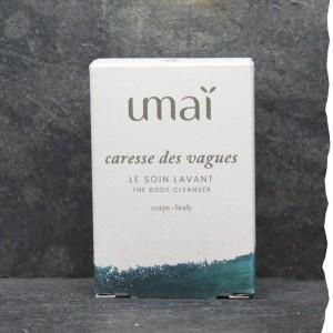 Soin lavant corps 100% naturel 75g Umaï fabriqué en France - Caresse des vagues