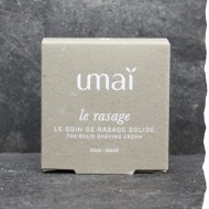 Soin de rasage 100% naturel et végétal - Made in France - Rasage traditionnel - Peaux sensibles - Umaï