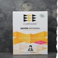 Savon Bio 100% naturel surgras saponifié à froid- Peaux sensibles - sans huile essentielle - 100g Ô Capitaine - made in France
