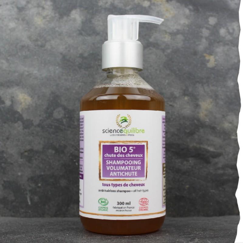 Shampoing Bio anti chute de cheveux pour homme - Volume et densité - Fabrication française