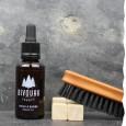 Coffret pour barbu - Bio - Soin de la barbe : huile et brosse - Bivouak