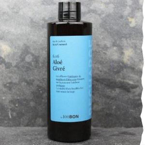 Parfum naturel pour homme 100BON - Aloé givré - Recharge 200ml - Fabrication française - Ecologique et économique