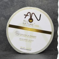 Savon de rasage Bio 100g bio - recharge -Rasage traditionnel - Fabrication française - Ecologique