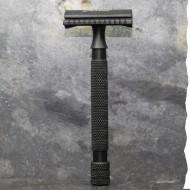 Rasoir de sécurité N°2 - Inox noir - fabriqué en France