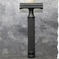 Rasoir de sécurité N°1 - Inox noir - fabriqué en France