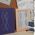 Carte A5 Bleue SILEX par VOLAU - Papier recyclé
