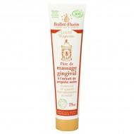 Pâte de massage gingival bio Ballot Flurin. Hygiène bucco-dentaire bio.