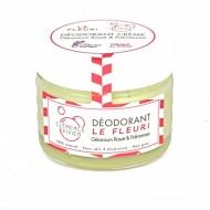 Déodorant crème naturel sans sel l'aluminium Le Fleuri Clémence et Vivien