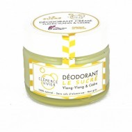 Déodorant 100% naturel crème  Le sucré Clémence et Vivien sans sel d'aluminium Zéro déchet