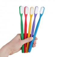 Lamazuna, Manche de brosse à dents à tête rechargeable, bioplastique, fabriqué en France