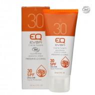 Crème solaire bio SPF30 - Visage et corps EQ